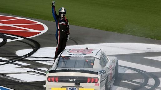 Une première victoire en Xfinity pour Chase Briscoe