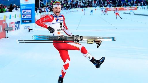 Alex Harvey champion du monde au 50 km en Finlande