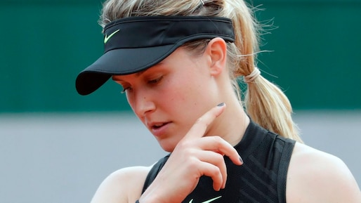Eugenie Bouchard s'incline dès le premier tour