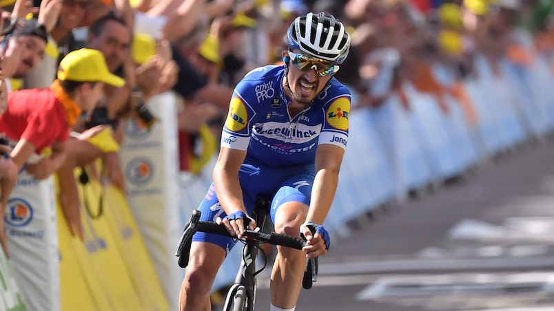 Tour de France: un feu d'artifice Alaphilippe-Pinot