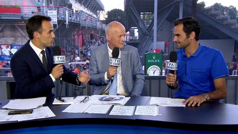 Roger Federer élogieux à l'endroit de Denis Shapovalov
