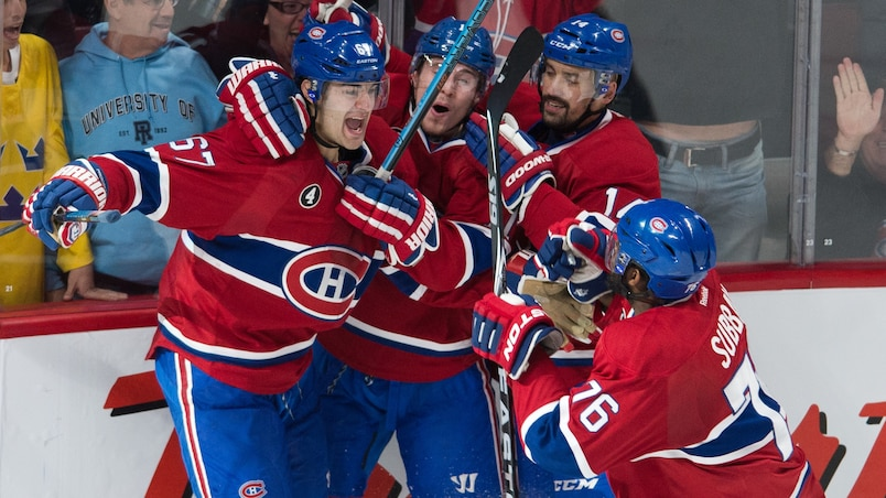 Pacioretty profite d'un cadeau de Bishop