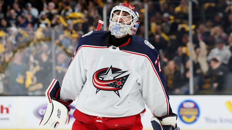 Columbus Blue Jackets v Boston Bruins - Game Five
