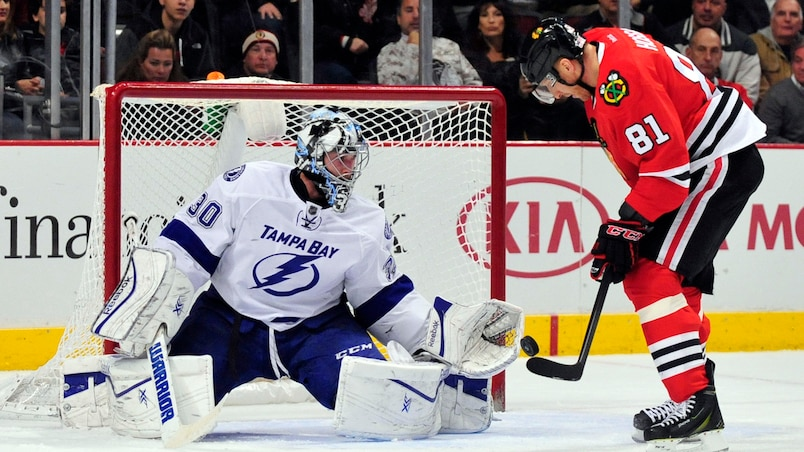 NHL: Tampa Bay Lightning at Chicago Blackhawks