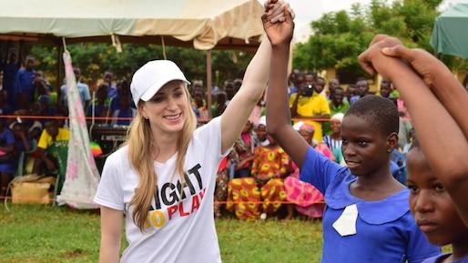 GEN-JOANNIE ROCHETTE AU GHANA
