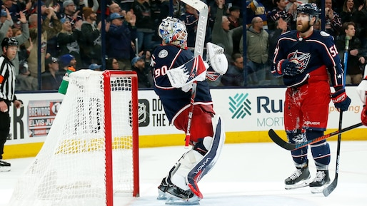 HKN-SPO-CAROLINA-HURRICANES-V-COLUMBUS-BLUE-JACKETS