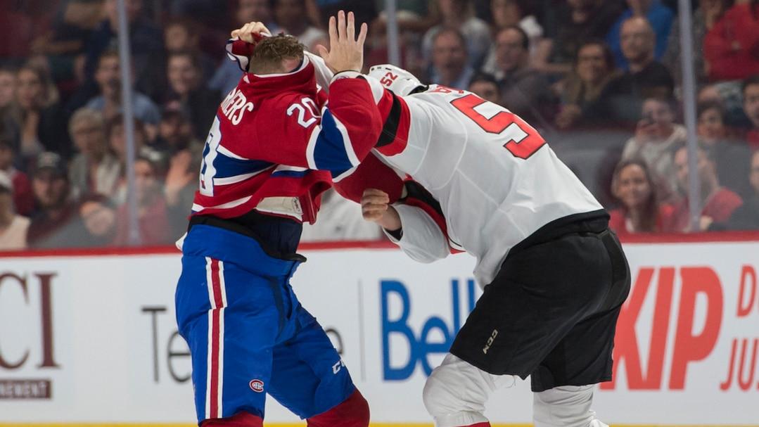 Canadiens c Devils