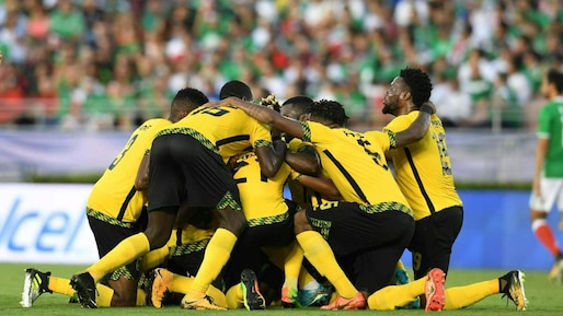 CONCACAF Gold Cup football semifinal: Jamaica vs Mexico