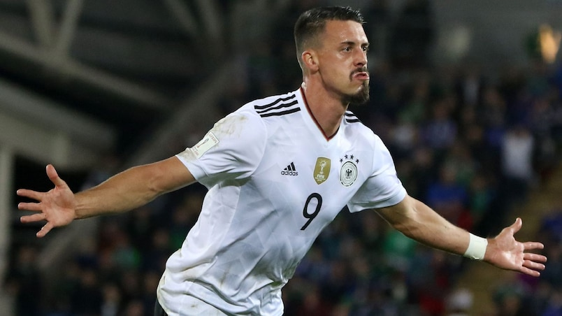 Le Bayern recrute le buteur Sandro Wagner