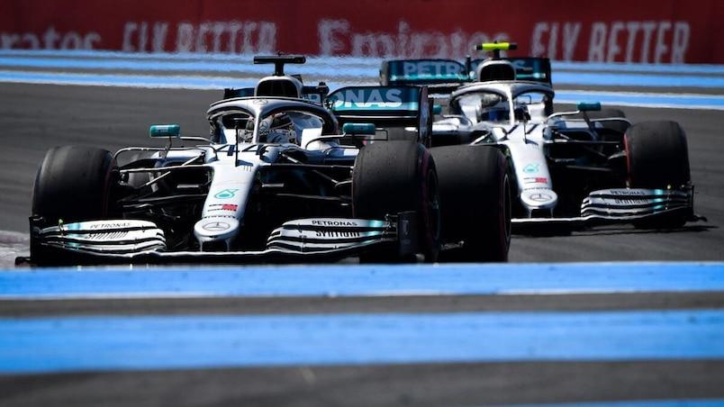 GP de France: les Mercedes dominantes, lueur d'espoir pour Stroll