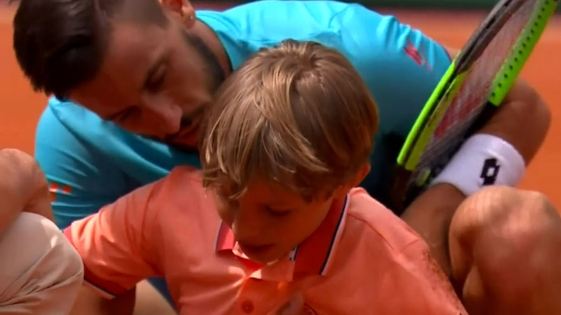 Roland-Garros: pas facile d'être chasseur de balles
