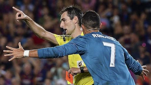 La suspension de Cristiano Ronaldo maintenue