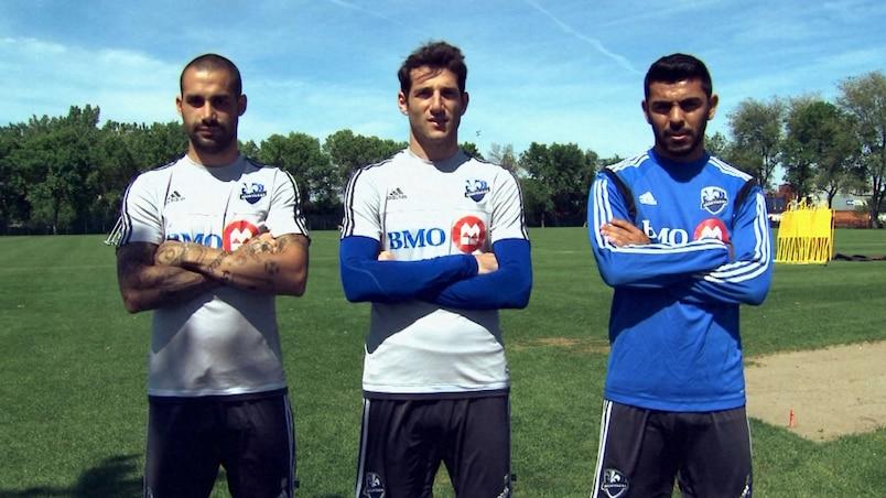 Andrés Romero, Ignacio Piatti et Victor Cabrera