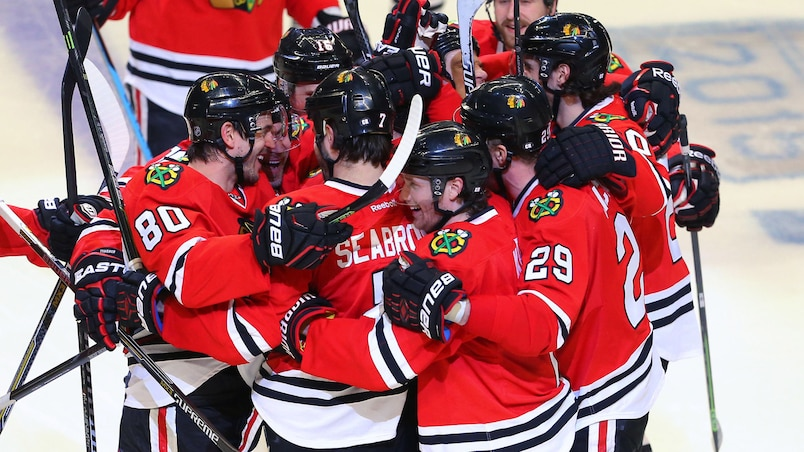 NHL: Stanley Cup Playoffs-Nashville Predators at Chicago Blackhawks
