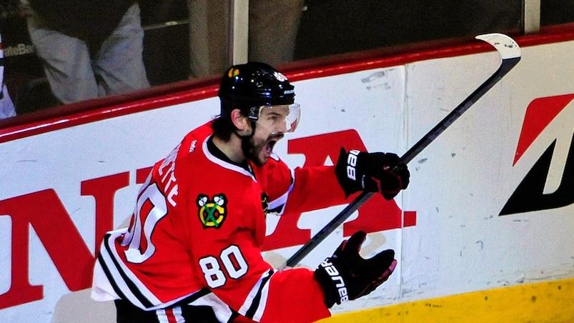 NHL: Stanley Cup Playoffs-Anaheim Ducks at Chicago Blackhawks