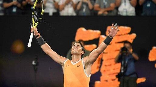 Rafael Nadal surclasse Stefanos Tsitsipas