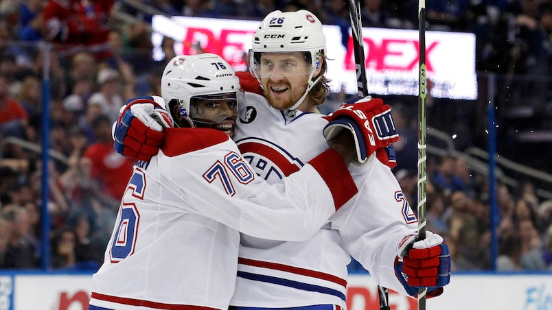 P.K. Subban et Jeff Petry