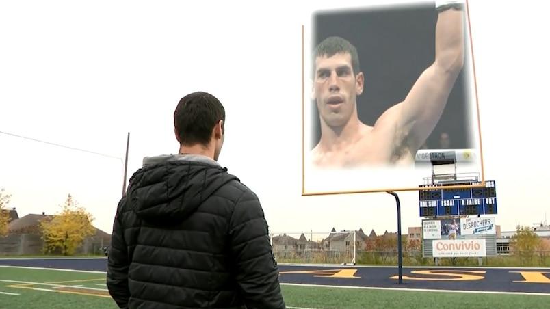 Clovis Drolet : du football à la boxe