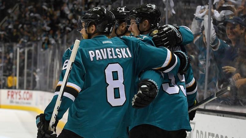 Pavelski et les Sharks poursuivent sur leur lancée!