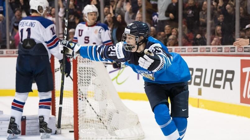 HKO-HKI-SPO-FINLAND-V-UNITED-STATES:-GOLD-MEDAL-GAME---2019-IIHF