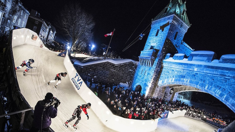 Le Red Bull Crashed Ice de retour à Québec