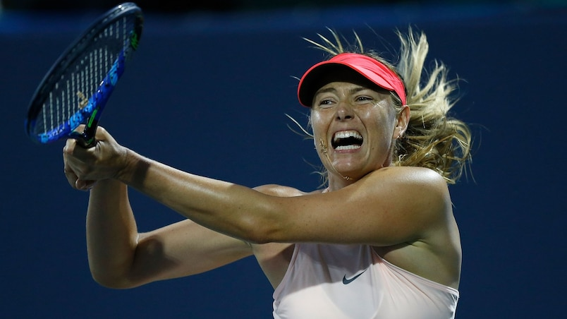 Maria Sharapova n'ira pas à la Coupe Rogers