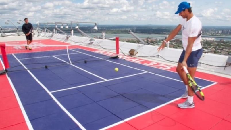 Du tennis à la hauteur...