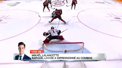 Raphaël Lavoie a impressionné