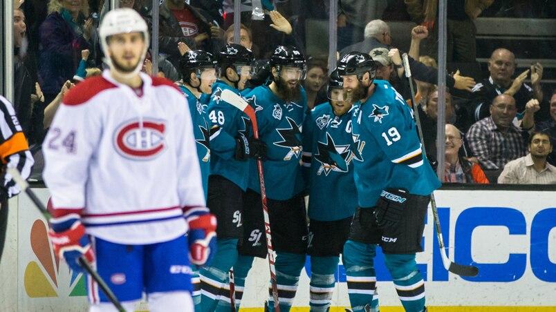 NHL: Montreal Canadiens at San Jose Sharks