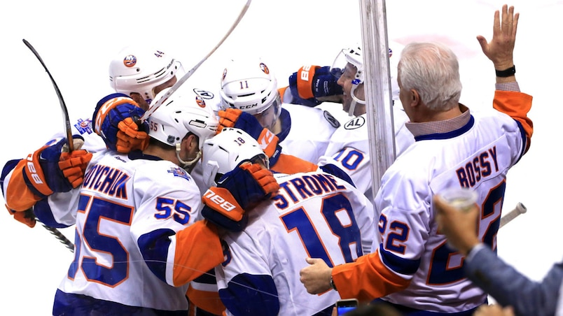 NHL: Stanley Cup Playoffs-New York Islanders at Florida Panthers