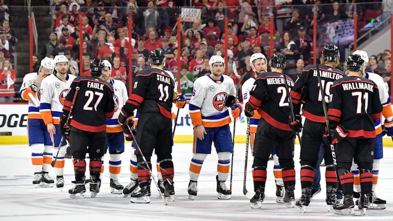 New York Islanders v Carolina Hurricanes - Game Four