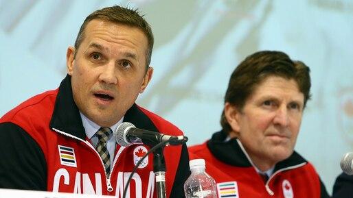 HKI-HKN-OLY-CANADA-ANNOUNCES-MEN'S-OLYMPIC-HOCKEY-TEAM