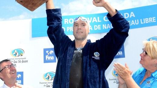 Traversée internationale du lac Saint-Jean: Xavier Desharnais veut reprendre son trône