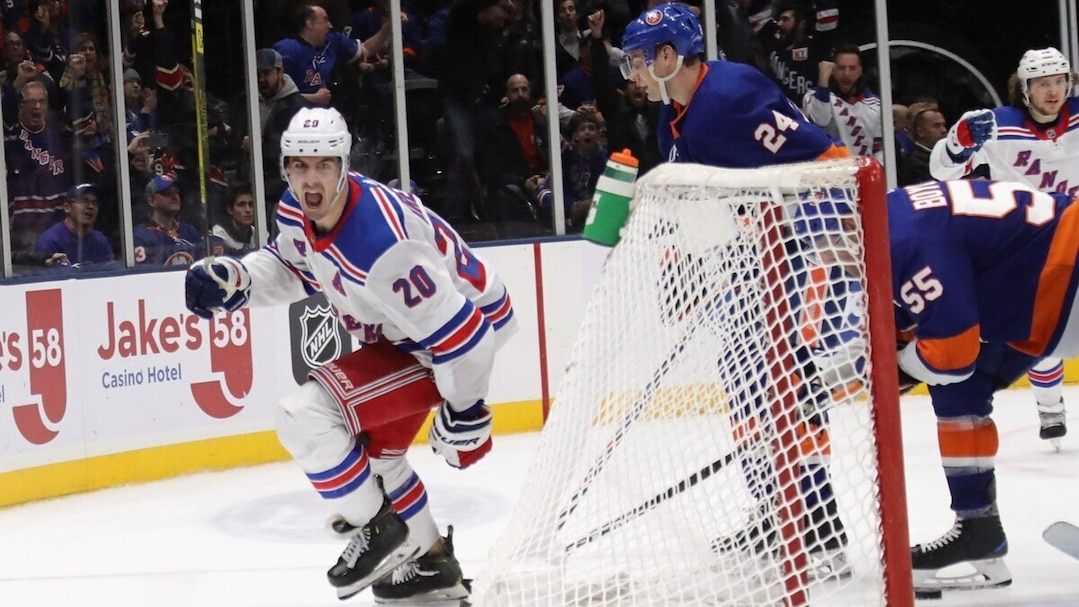 HKN-HKO-SPO-NEW-YORK-RANGERS-V-NEW-YORK-ISLANDERS