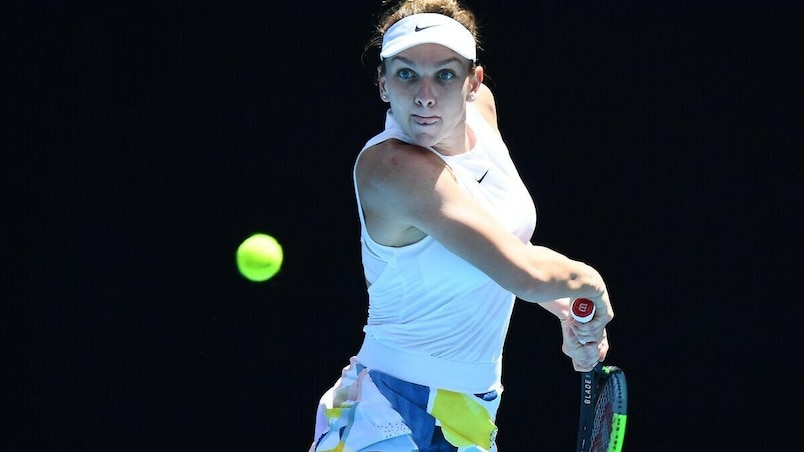 Simona Halep en quarts à Melbourne