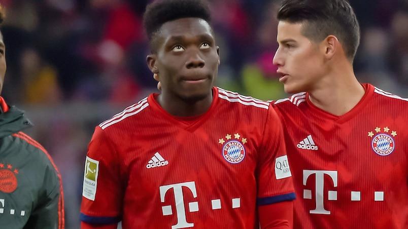 Alphonso Davies effectue ses débuts en Bundesliga