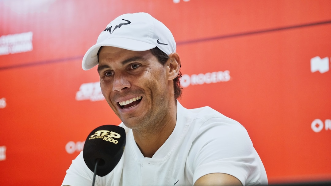 SPO-Entrevue avec Rafael Nadal á la Coupe Rogers