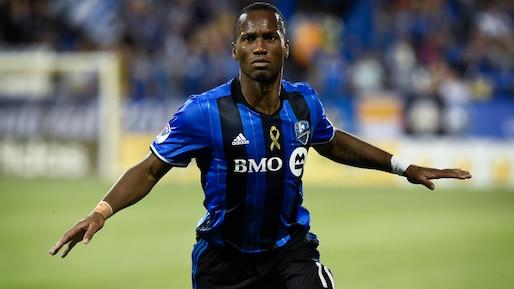 Huit moments marquants de Didier Drogba à Montréal