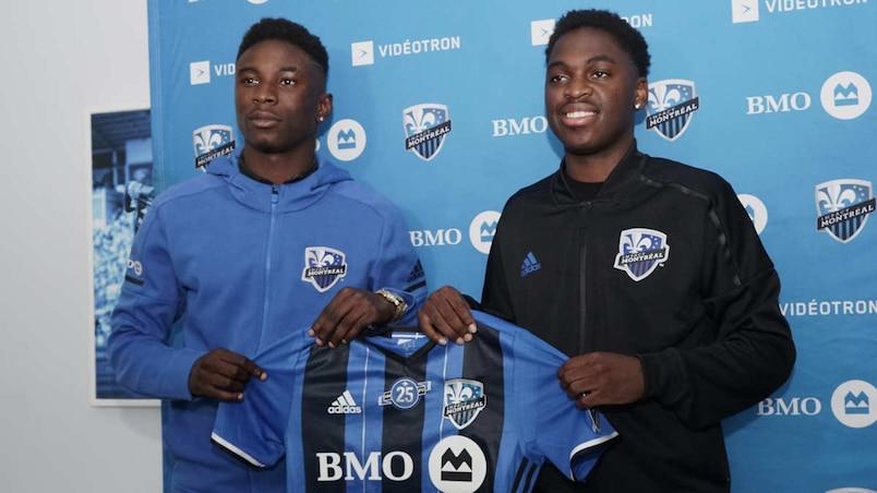 Clément Bayiha et Daniel Kinumbe