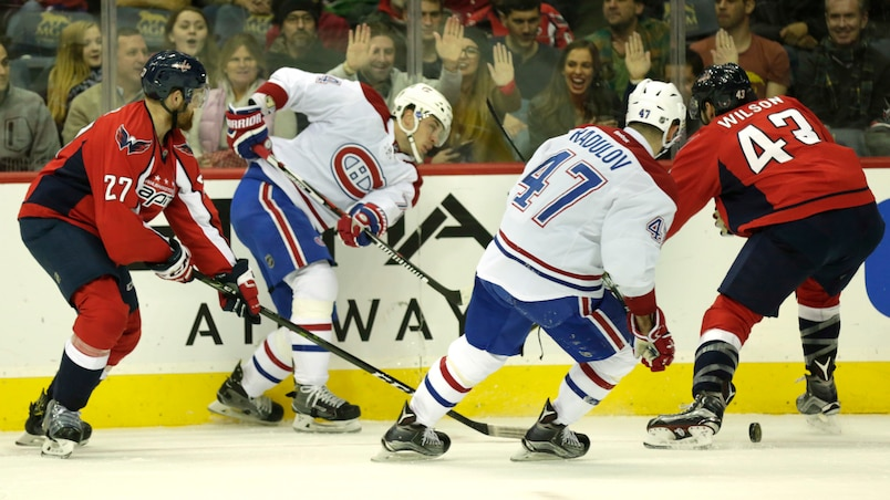 SPO-MATCH CANADIENS DE MONTREAL VS CAPITALS DE WASHINGTON