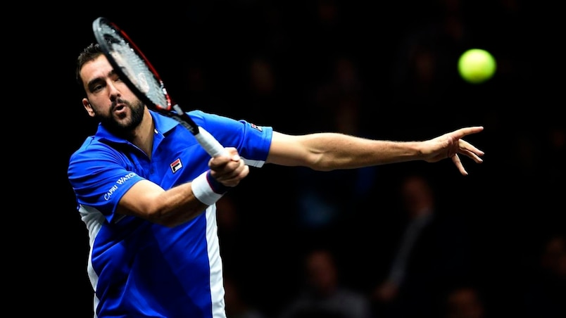 Cilic donne les devants à l'Europe
