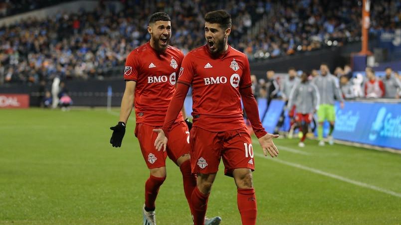 Pozuelo et le Toronto FC font leur loi à New York