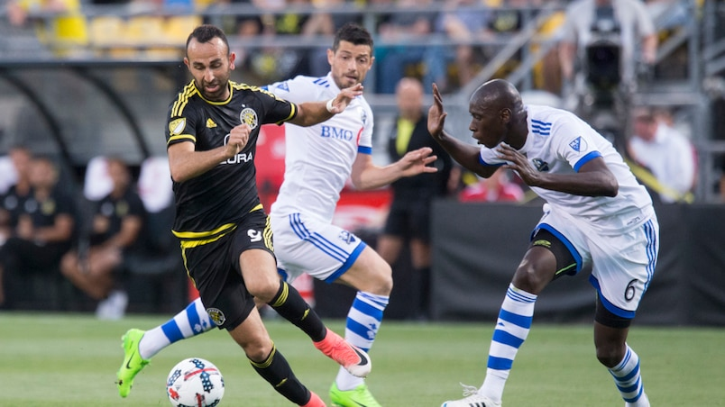 Montreal Impact against the Columbus Crew