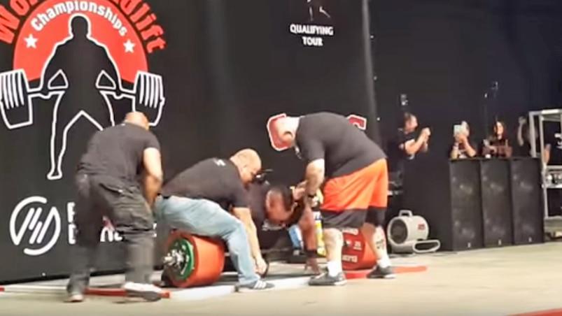 Le premier homme à soulever 500 kg