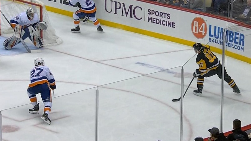 Crosby continue de faire souffrir les Islanders