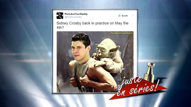 Le meilleur du web: la force avec Sidney Crosby?