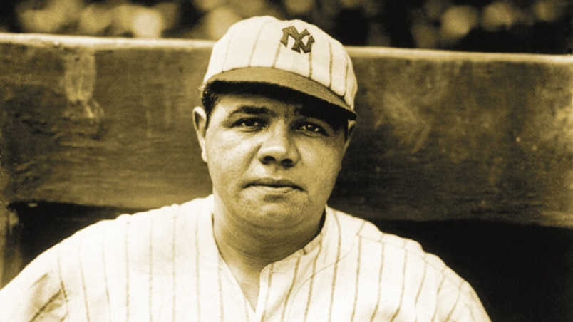 BABE RUTH FILE PHOTO