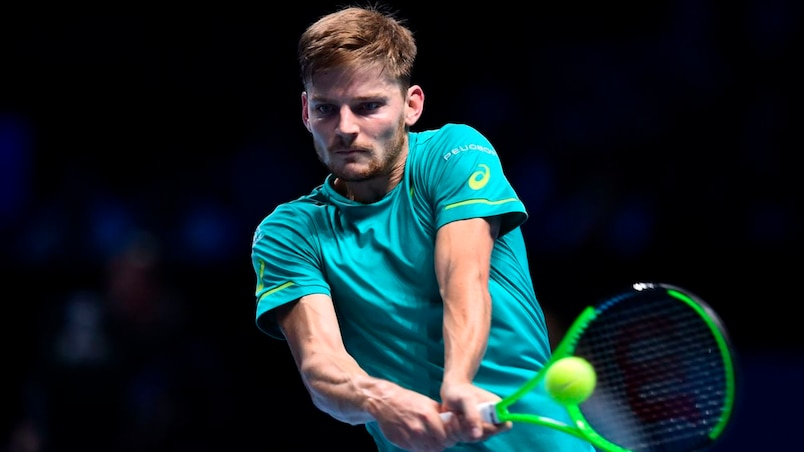 ATP: David Goffin surprend Roger Federer à Londres