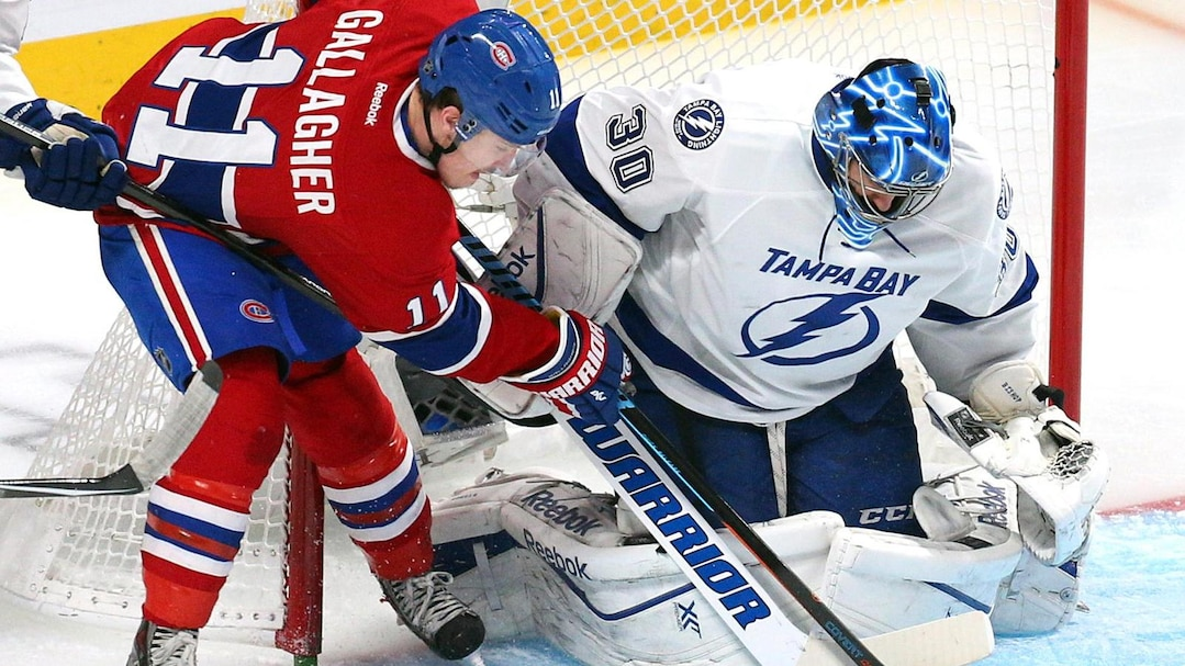 NHL: Stanley Cup Playoffs-Tampa Bay Lightning at Montreal Canadiens