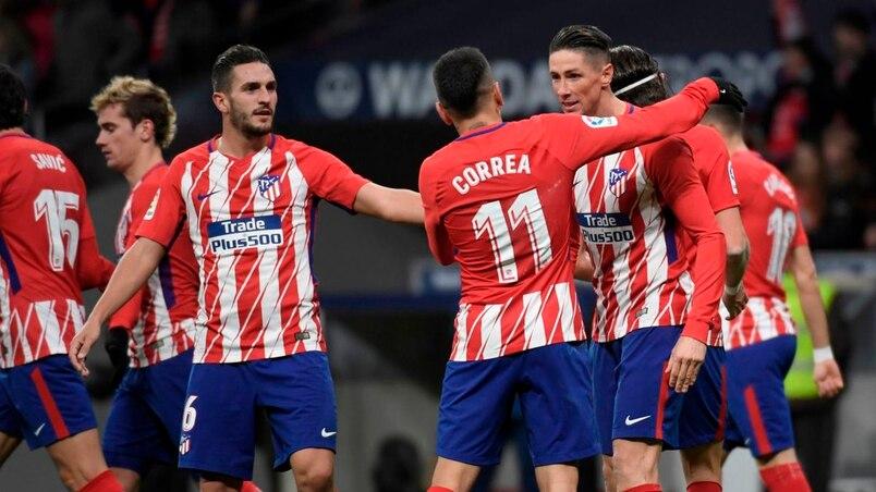 L'Atletico prend la 2e place à Valence